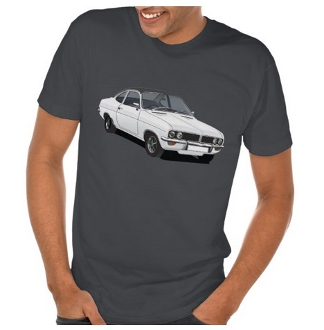 vauxhall, firenza, 70s, illustration, tshirts, apparel