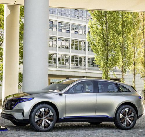 Tinuku Mercedes-Benz Generation EQ concept confirms future electric car brand
