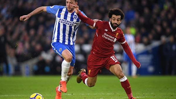 محمد صلاح يقود ليفربول للفوز على برايتون