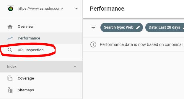 Cara cepat Index artikel dengan URL Inspection