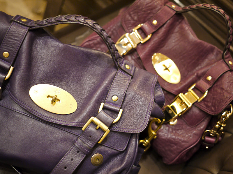 After i bought my Mulberry Grape Alexa (AW2010) (Read about it here) 39485196eacb7