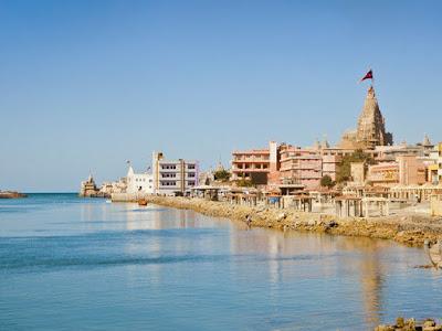 VIEW OF DWARKA CITY, Gujarat