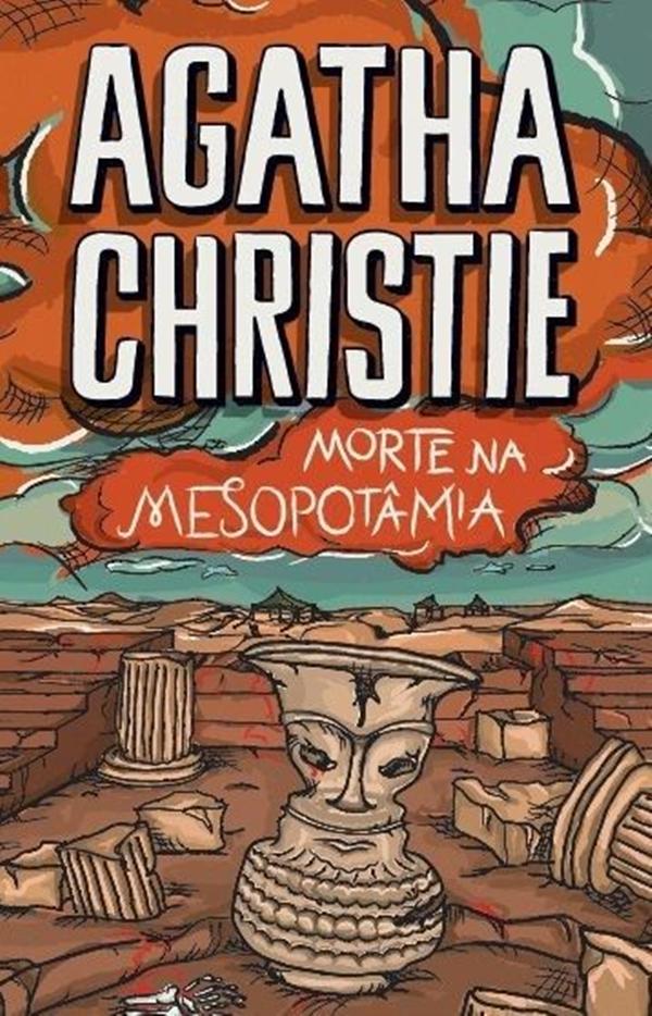 Livro Morte na Mesopotâmia de Agatha Christie