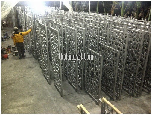 pagar dan railing masjid