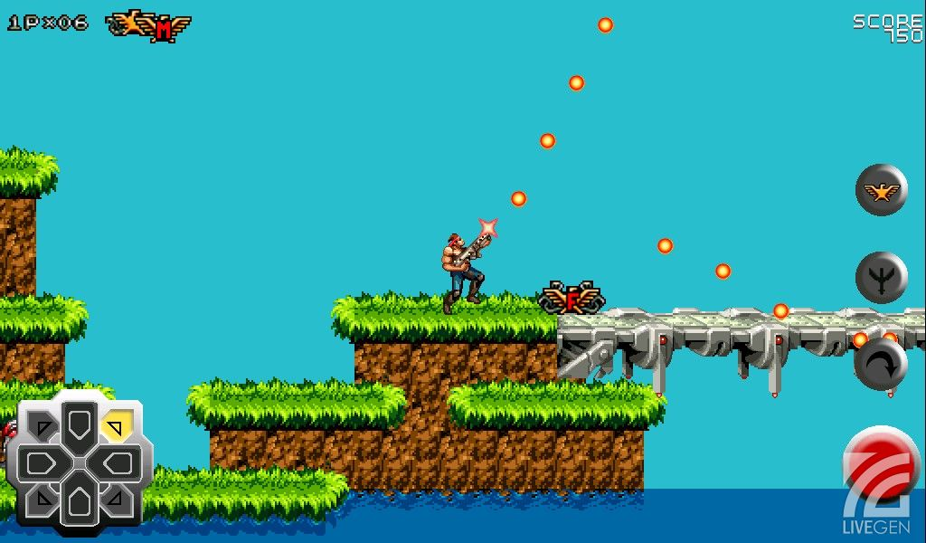 Games) Contra 4 Redux : Classic 2D game from nintendo days