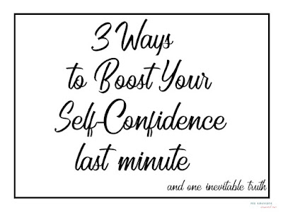 3 ways to boost self-confidence last minute preparation for school university presentation oral exam job interview
