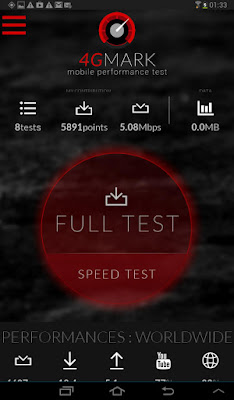 4Gmark 3G 4G speed test Apk For Android