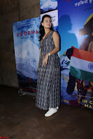 Dia Mirza with Star Cast of MOvie Poorna (5) Red Carpet of Special Screening of Movie Poorna ~ .JPG