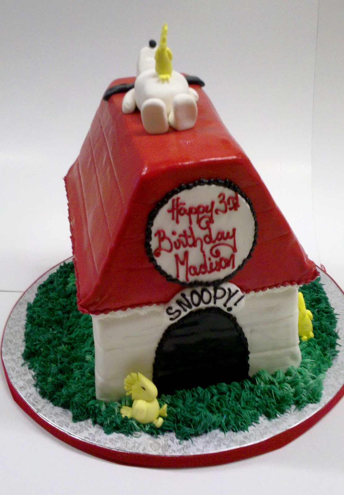 Leslie S Cool Cakes From Stan S Northfield Bakery Snoopy Cake