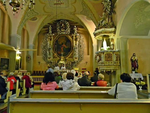 Bytom Odrzański, kościoły polskie, ołtarz, świątynia