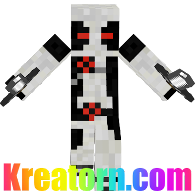 Minecraft X-Force Deadpool Skin