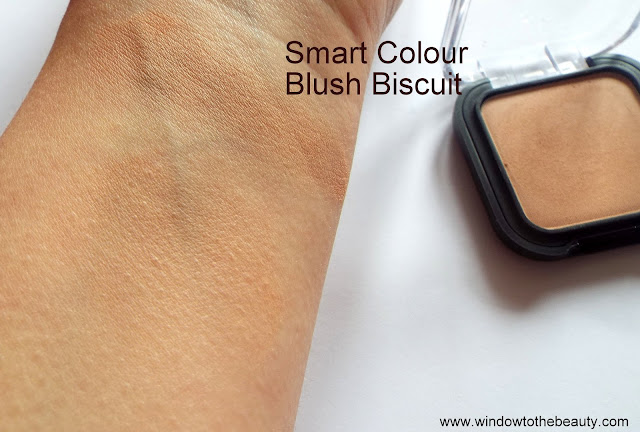 Kiko Smart Colour Blush Biscuit swatch