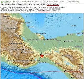 Νέος σεισμός 6,2 Ρίχτερ στο Μεξικό