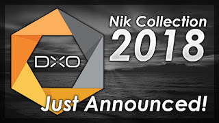 Nik Collection 2018 By DXO - Just Announced!