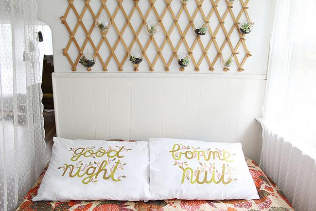 M a i e d a e loving your home with katie - Cabeceros caseros de cama ...