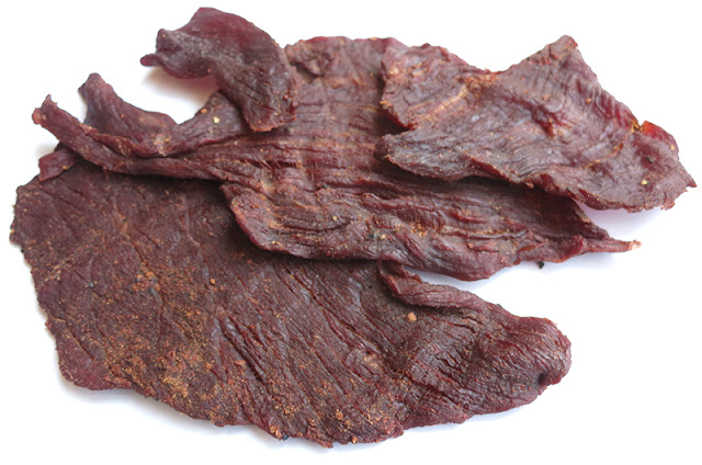 our first beef jerky