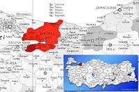 Karamürsel ilçesinin nerede olduğunu gösteren harita