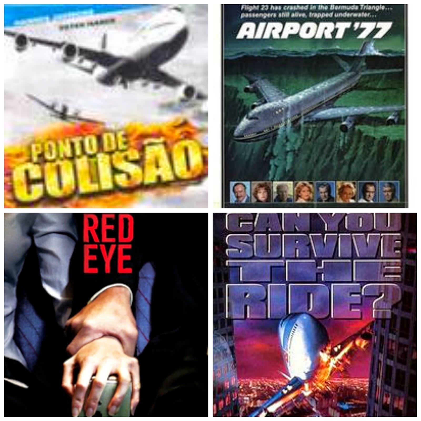 filmes para não assistir antes de viajar de avião