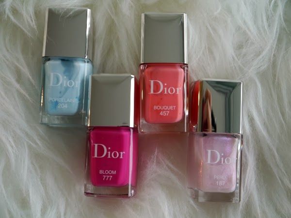 Dior Vernis Trianon edition nail lacquers for spring 2014