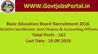 Basic Education Board Recruitment 2016