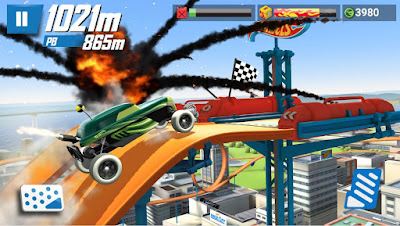 download game mobil untuk hp, hot wheels race off