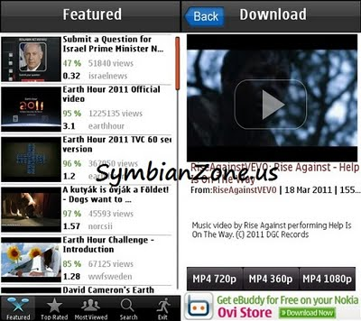 PicoBrothers YouTube Downloader v1 0 Symbian^3 Signed - Free