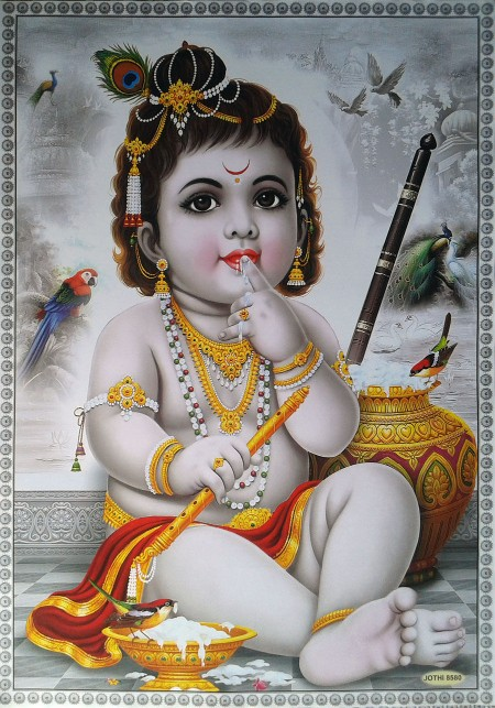 Lord bal krishna Pictures