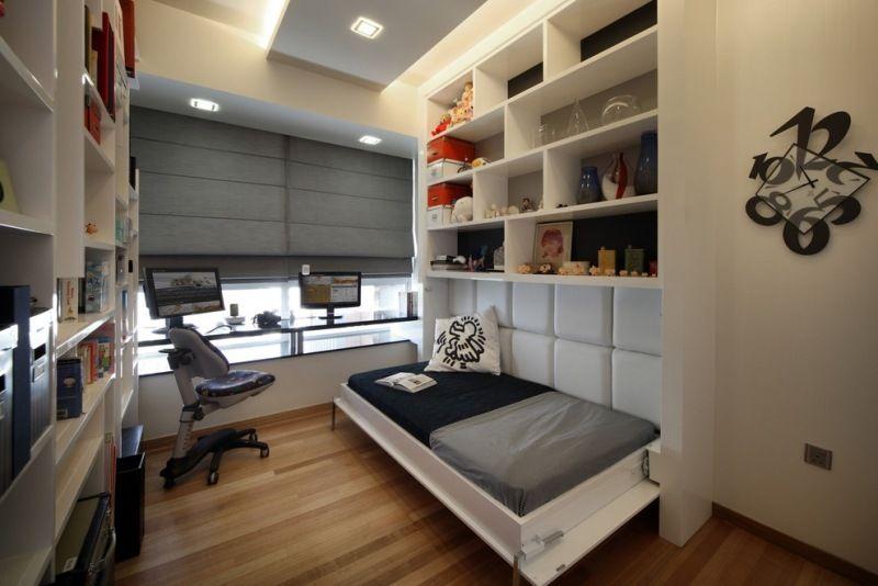 Ideas de habitaciones para j venes estudiantes - Dormitorio pequeno juvenil ...
