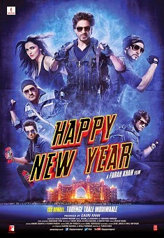 Happy New Year (2014) Hindi Movie Poster