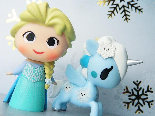 Elsa Mystery Mini Funko, Unicorno Tokidoki Yuki