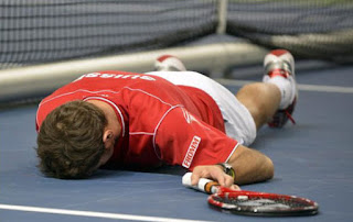 Burnt out from tennis?