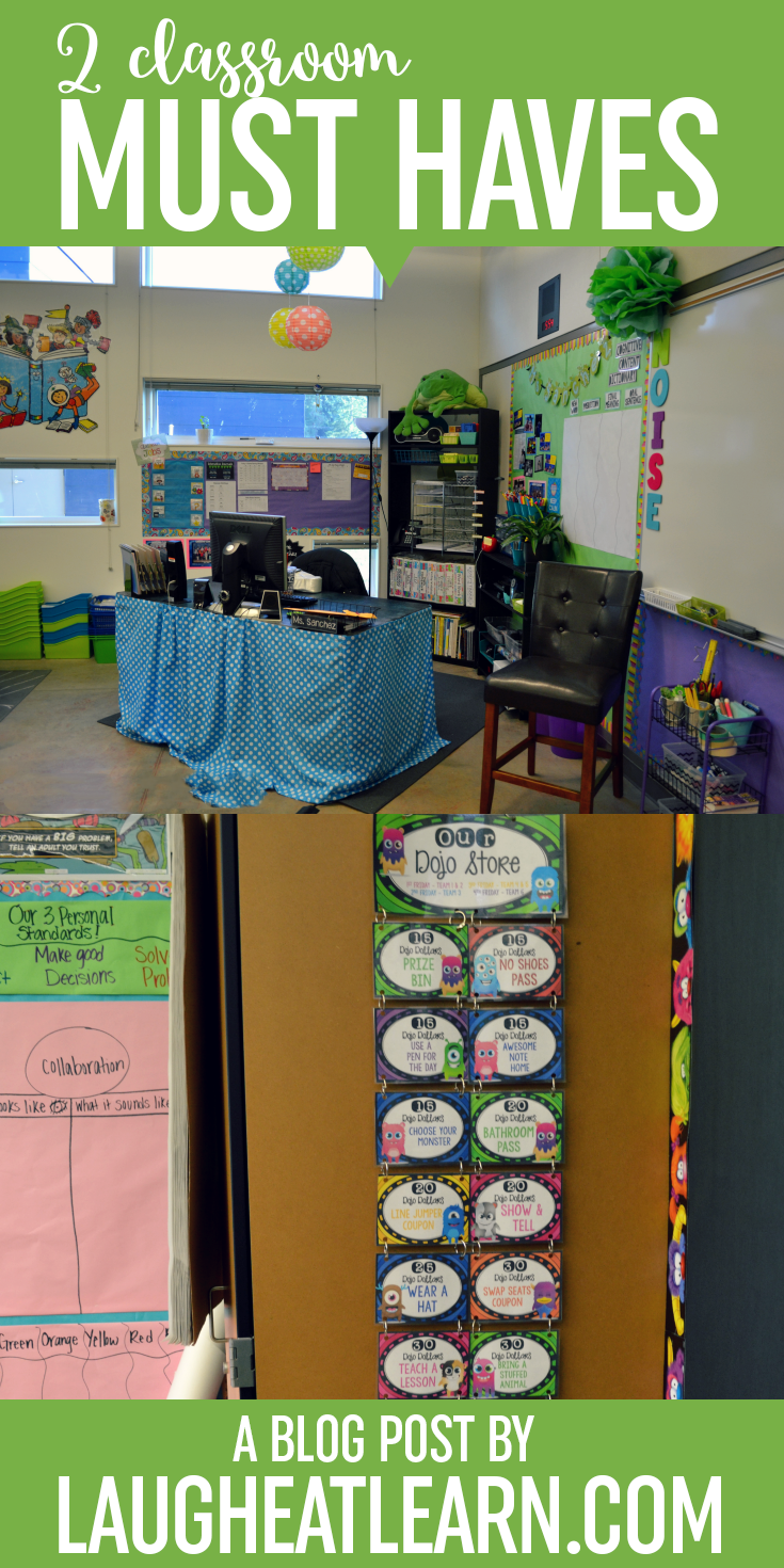 As a teacher there are two things that are must haves in my classroom, a positive classroom management strategy (like class dojo!) and a budget friendly classroom organization tip and trick.