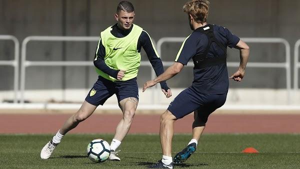 Málaga, vuelven a los entrenamientos Ideye, Success y Lestienne