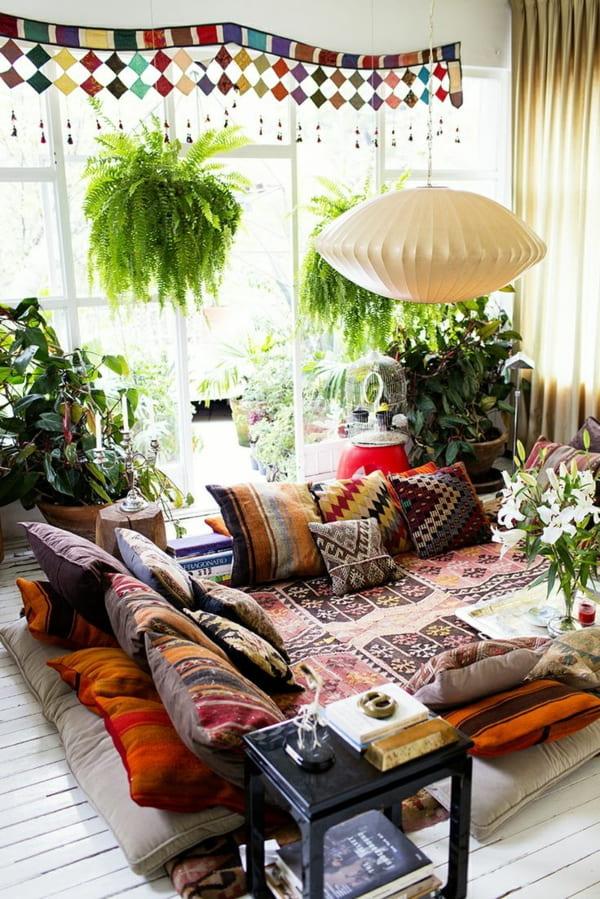 gambar tanaman hias ruang keluarga