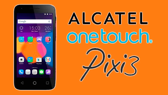 rom stock Alcatel OT Pixi 3 (4.5) 5017e