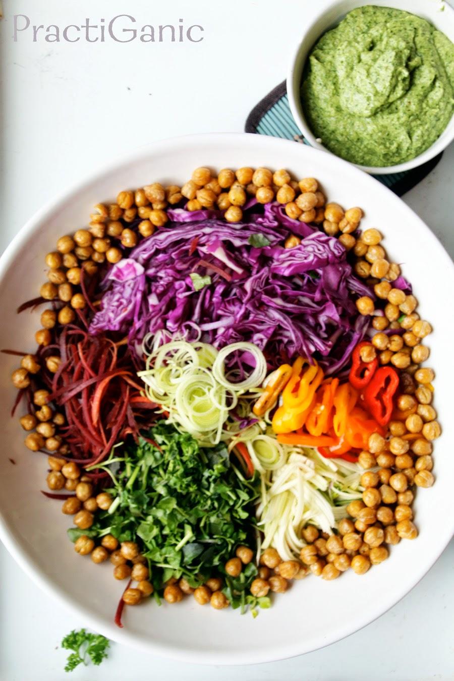 Roasted Chickpea Power Salad