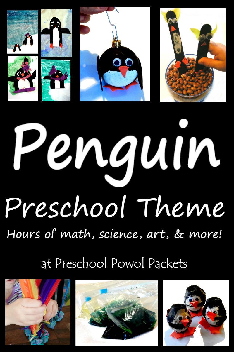 penguin preschool activities for penguin theme or unit preschool