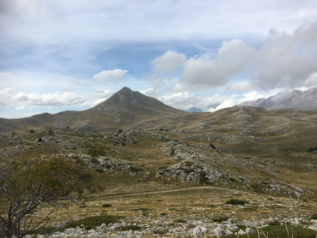 Campo Imperatore, and the high peaks of the Gran Sasso d'Italia mountain range