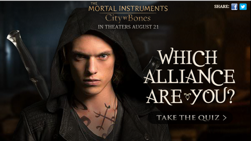 New Promotional Pics of Jace  Clary  Alec  Luke and Vampire LieutenantMortal Instruments Movie Luke