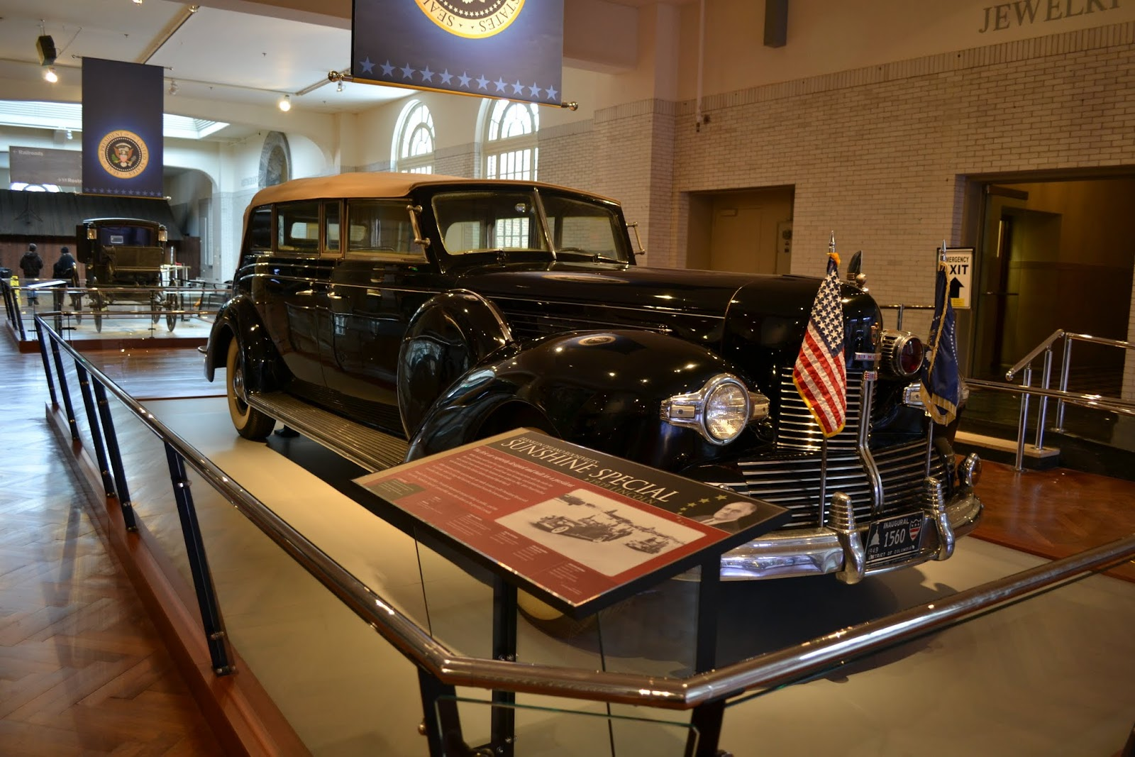 Музей Генри Форда - Sunshine Special Lincoln, 1939 Франклина Делано Рузвельта(Henry Ford Museum - Presidential Limousines)