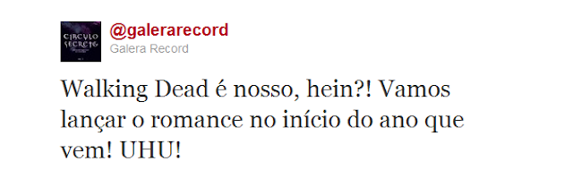 News: Livro baseado em The Walking Dead chega em 2012 no Brasil. 7