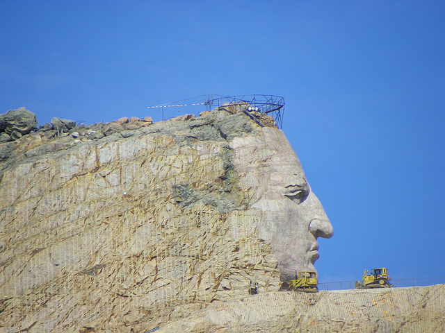 Crazy horse monument completion date