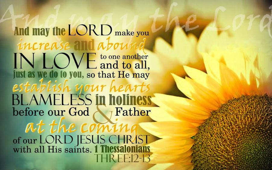 Love Prevails!: Blessed be GOD ForEVER!