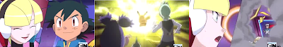 Pokemon Capitulo 2 Temporada 15 Batalla, Deslumbrando En El Gimnasio Nimbasa