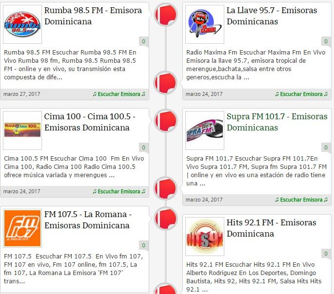 emisoras dominicana - emisoras de bachatas