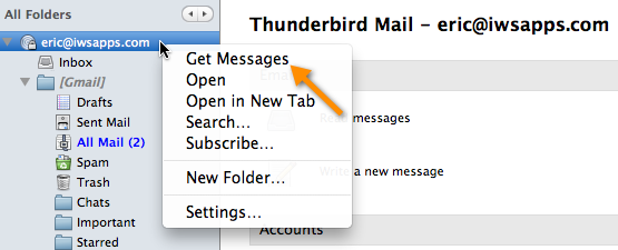 how to take accounts off messages mac