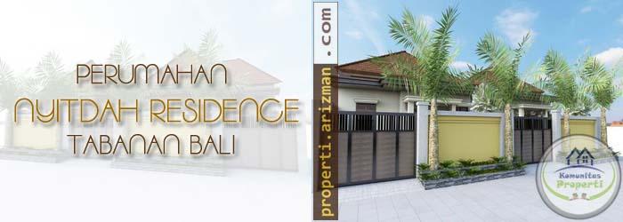 Dijual Perumahan Nyitdah Residence Tabanan Bali