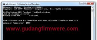 Cara Flashing Asus Zenfone 5 T00F / T00J