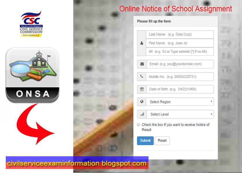 civil service exam see connected with higher education plan 2015