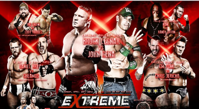 Watch Extreme Rules 2016 Live stream in hd Free